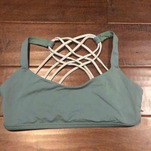 Lululemon free to be strappy sports bra